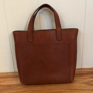 Madewell Small Leather Transport Bag